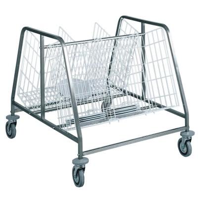 Dish trolley for irca 200 empty plates. - Forcar