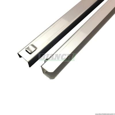 Coppia di guide in acciaio inox per GN2/1. CG.21 - Inox BIM
