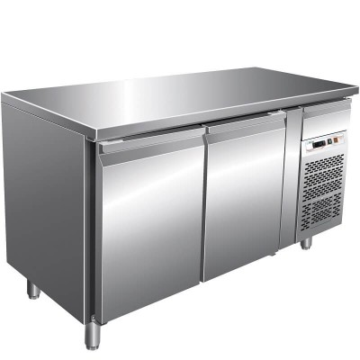 Refrigerated table for Confectionery, Temp 2/8°, stainless steel AISI 201. GPA2100TN-FC - Forcar
