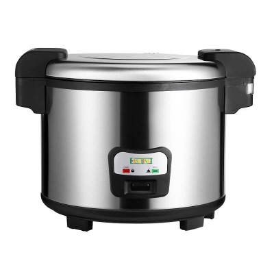 Professional rice cooker with stainless steel frame 30 portions. Mod: SC8195 - Easy line By Fimar