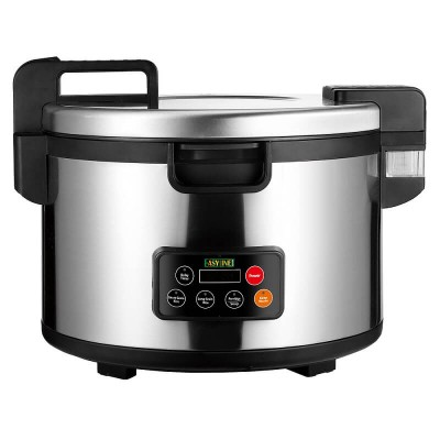 Professional stainless steel rice cooker, soups and porridge, max 45 portions. Mod: SD82C - Easy line By Fimar