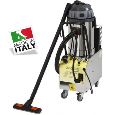 Professional steam cleaner with vacuum cleaner and liquid suction. Mod: Puliav1300 - PuliLav