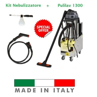 Package with Nebulizer sanitation machine. - PuliLav