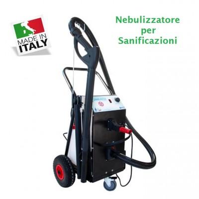 Professional nebulizer for sanitization. Pulilav370 - PuliLav