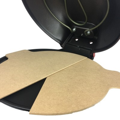 Pair of wooden pizza paddles for baking tray altema - Altema