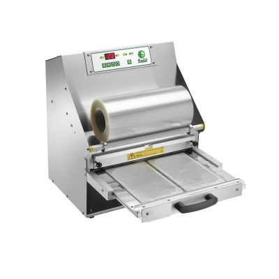 Automatic thermosealing machine for food in steel, mod. TS3A - Fimar