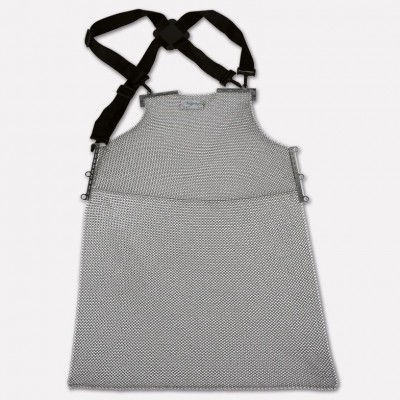Stainless steel apron, Various sizes available. 9002 - Paolucci Cutlery