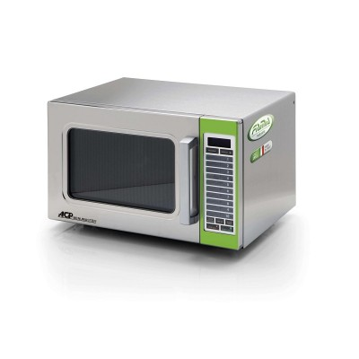 Professional Microwave oven in stainless steel and digital keyboard. Model: DECS11M - Easy line By Fimar