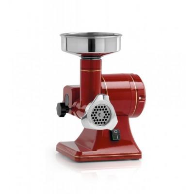 Semiprofessional meat grinder TS8 R retro aesthetics Stainless steel grinding unit. 380 Watt Single-phase. FTSMR126 - Fama i...