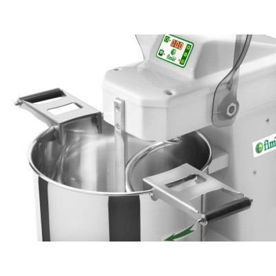 Handles for pan extraction for CNS Fimar spiral mixers - Fimar