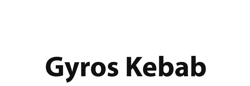 Spare parts for Gyros Kebab