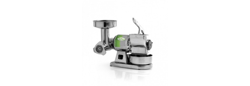 Meat mincer and grater